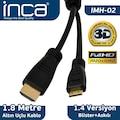 41747466 - Inca IMH-02 Full HD 3D Altın Uçlu 1.8 M HDMI Kablo - n11pro.com