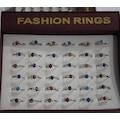13922397 - Fashion Rings 4225 Bayan Yüzük 36'Lı - n11pro.com