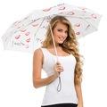 09638917 - Biggdesign Her Dilden Beyaz Mini Şemsiye - n11pro.com