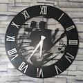 60731175 - Metalart Enstrüman Dekoratif Ahşap Duvar Saat - n11pro.com
