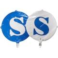 "08892170 - Folyo Balon Harf S 18"" Mavi-Beyaz - n11pro.com"