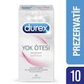67608200 - Durex Prezervatif Yok Ötesi Ekstra Zevk 10'lu - n11pro.com