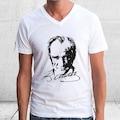 76919556 - Kristal Atatürk Baskılı T-Shirt - n11pro.com