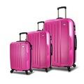 68451109 - My Valice Travel Abs 3'lü Valiz Seti Pembe - n11pro.com