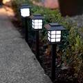 02217902 - Sokak Lamba Tasarımlı Solar Bahçe Lambası - n11pro.com