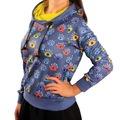 99551174 - Biggdesign Gözüm Sende Sweatshirt Mavi Desenli L-XL - n11pro.com