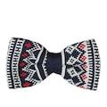 88656412 - Biggfashion Lacivert Desenli Örme Papyon - 2 - n11pro.com