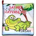 17547898 - Tox Safari Hayvanları Kumaş Sessiz Kitap - n11pro.com