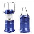 31394465 - U.S Swat 1W 6 Ledli Solar Şarjlı Kamp Feneri Mavi 15 x 8 CM - n11pro.com