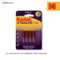 20977422 - Kodak Xtralife Serisi Alkalin İnce Pil AAA 4 Adet - n11pro.com