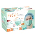 90183797 - Fresh Mask 3 Katlı Filtreli Burun Telli Medikal Maske 50'li - n11pro.com