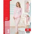 87215032 - Ayıcıklı Orta Kalın Kadın Pijama Eşofman Takım - n11pro.com