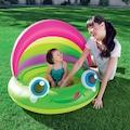 70149940 - Bestway 52188 Kurbağa Figürlü Şişme Havuz UV Korumalı 109 x 104 CM - n11pro.com