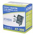 28184548 - Ataba AT-300 0-12V 300 mAh Kademeli 8.7W AC-DC Adaptör - n11pro.com