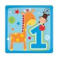 07964498 - Güzel 1 Yaş Erkek Küçük Tabak Mavi - n11pro.com