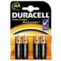 15861845 - Duracell Alkalin 4 Adet AA Kalem Pil - n11pro.com