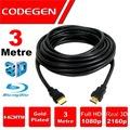 08564688 - Codegen CPS30 3D Altın Uçlu 3 M HDMI Kablo - n11pro.com