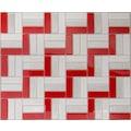 28778939 - Tasarım Cam Mozaik Kristal Cam Venedik Kırmızı - n11pro.com