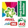 00402900 - Ariel Toz Çamaşır Deterjanı Parlak Renkler 40 Yıkama 6 KG - n11pro.com