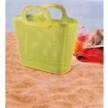 69061933 - Diamond Çok Amaçlı Plastik Plaj ve Alışveriş Çantası Yeşil - n11pro.com