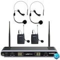 37892555 - Lastvoice Lv-502H Çiftli Telsiz Kablosuz Headset Kafa Mikrofonu - n11pro.com