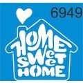 70258194 - Stencilsepeti - Evim Güzel Evim Stencil Ahşap Şablonu 6949 - n11pro.com