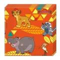 38444175 - Aslan Kral Kağıt Peçete 33x33 Cm - n11pro.com