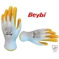 05770593 - Beybi EL-K7 Nitril Sarı İş Eldiveni - n11pro.com
