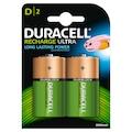 37958862 - Duracell Şarj Edilebilir 2 Adet D Pil - n11pro.com
