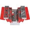 89585200 - İzeltaş 8420 Metal Takım Çantası 5 Gözlü 62 Parça (Dolu) 190x420x200mm - n11pro.com