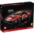 43276617 - LEGO Technic 42125 Ferrari 488 Gte 'af Corse #51 Kırmızı - n11pro.com