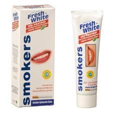 88081163 - Fresh White Smokers Diş Pastası Sigara İçenlere Özel - n11pro.com