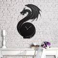 68102760 - Messken Metal Duvar Saati Şık ve Özgün Tasarım H12 - n11pro.com