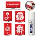 03147624 - One Spray Tattoo Geçici Dövme Seti Yılan Ve Aslan Dövmesi - n11pro.com