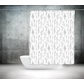 63610169 - Günce Banyo Duş Perdesi 2499 Çift Kanat 2 x 100 x 200 - n11pro.com