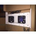 40999516 - Nted 2'li Fan Modülü Duvar Tipi Kabinet İçin PKRD-FMD F2 - n11pro.com
