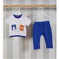 42922112 - İncir Kids Erkek Bebek Pantolon Tişört Takım (Asorti) - n11pro.com