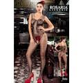 30033147 - Rosaria 5036 Jartiyer Görünümlü Vücut Çorabı Siyah - n11pro.com