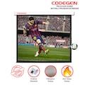 64690292 - Codegen FEX-24 Alev Almaz Fiber Glass Motorlu Projeksiyon Perdesi - n11pro.com