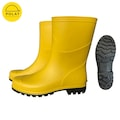 94144483 - Polat Kısa Sarı Çizme PVC 1.Kalite - n11pro.com