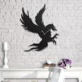 08724433 - Messken Metal Duvar Saati Şık ve Özgün Tasarım Siyah T53 - n11pro.com