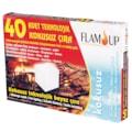 64013673 - Flam Up Teknolojik Beyaz Çıra 40'lı - n11pro.com