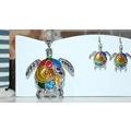 21355323 - Hayvan Figürlü Kolye Ve Küpe Set Kaplumbağa Silver - n11pro.com