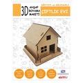 44946445 - Kelime Eğitim Araçları Çiftlik Evi 13 x 12 x 16 CM - n11pro.com