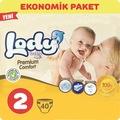 44472116 - Lody Baby Premium Comfort Mini 3-6 KG Bebek Bezi 2 Beden 40 Adet - n11pro.com
