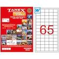 60776025 - Tanex TW-2165 Lazer Etiket 38.1 x 21.2 MM 100 Sayfa - n11pro.com