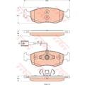 95766646 - Trw Gdb1900 Fren Balatasi Fiat Punto 2008> - n11pro.com