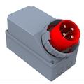 39454948 - Bemis BC1-6504-7220 Cee Norm 45° Eğik Duvar Fişi (Pilotlu) - n11pro.com