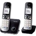45545289 - Panasonic KX-TG6812GB Dect Telefon Gümüş - n11pro.com
