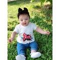 89902037 - Babygiz NBA515 3'lü Takım Kız Bebek Bandana 0-10 Yaş - n11pro.com